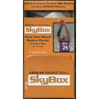 2008/09 Upper Deck Skybox Basketball Gravity Feed 48-Pack Box