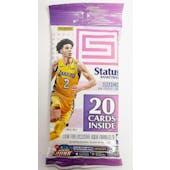 2017/18 Panini Status Basketball Jumbo Value 20-Card Pack (Lot of 12) = 1 Box!