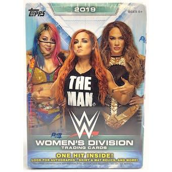 2019 Topps WWE Women's Division Wrestling Blaster Box (Walmart)