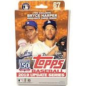 2019 Topps Update Series Baseball Hanger Box (Bryce Harper Inserts)