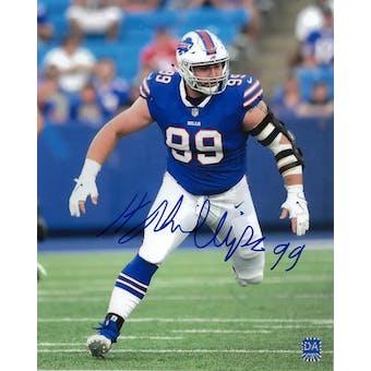 Harrison Phillips Autographed Buffalo Bills 8x10 Photo