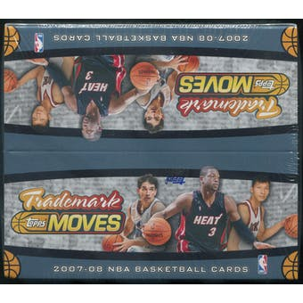 2007/08 Topps Trademark Moves Basketball Retail Box