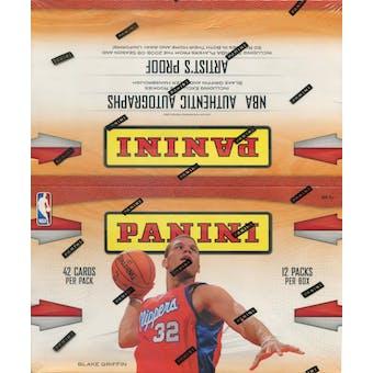 2009/10 Panini Basketball Rack Pack Box