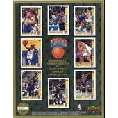 1991/92 Upper Deck New York Knicks Commemorative Sheet Ewing/Wilkins