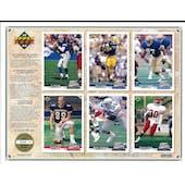 1992 Upper Deck NFL Properties Insert Set Sell Sheet Version 4 of 8