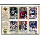 1992 Upper Deck NFL Properties Insert Set Sell Sheet Version 5 of 8