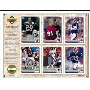 1992 Upper Deck NFL Properties Insert Set Sell Sheet Version 5 of 8