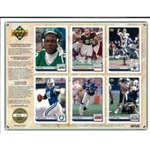 1992 Upper Deck NFL Properties Insert Set Sell Sheet Version 7 of 8