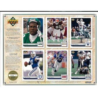 1992 Upper Deck NFL Properties Insert Set Sell Sheet Version 7 of 8