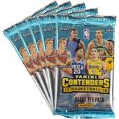 2017/18 Panini Contenders Basketball Blaster Pack (Lot of 5) = 1 Blaster Box