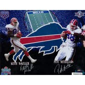 Pete Metzelaars & Keith McKeller Autographed Buffalo Bills 11x14 Photo