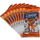2017/18 Panini Prestige Basketball Blaster Pack (Lot of 8) = 1 Blaster Box