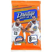 2017/18 Panini Prestige Basketball Retail Pack (Lot of 24)