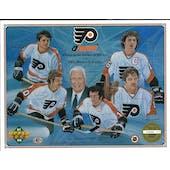 1991/92 Upper Deck Philadelphia Flyers Alumni Commemorative Sheet Clarke/Parent