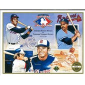 1991 Upper Deck Heroes of Baseball Atlanta Braves Commemorative Sheet
