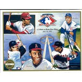 1991 Upper Deck Heroes of Baseball Home Run Hitters Tribute Commemorative Sheet