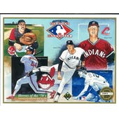 "1991 Upper Deck Heroes of Baseball Cleveland Indians ""Heroes of the 70's"" Commemorative Sheet"