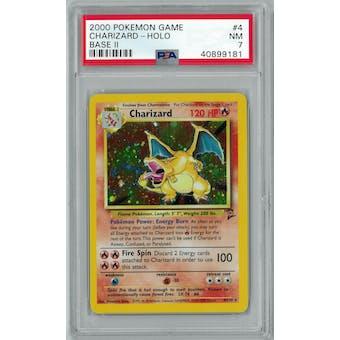 Pokemon Base Set 2 Charizard 4/130 PSA 7