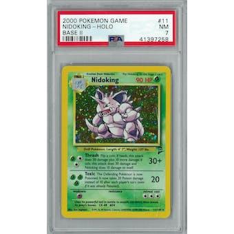 Pokemon Base Set 2 Nidoking 11/130 PSA 7