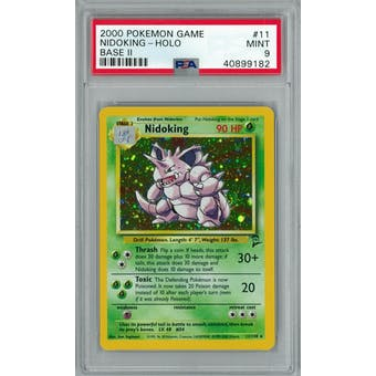 Pokemon Base Set 2 Nidoking 11/130 PSA 9