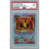 Pokemon Legendary Collection Reverse Foil Moltres 30/110 PSA 9