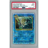Pokemon Legendary Collection Reverse Foil Omastar 58/110 PSA 9