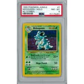 Pokemon Jungle No Set Symbol Error Nidoqueen 7/64 PSA 8