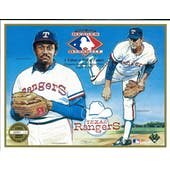 1991 Upper Deck Heroes of Baseball Texas Rangers HOF Tribute Commemorative Sheet