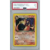 Pokemon Team Rocket Dark Charizard 4/82 PSA 5