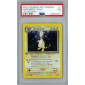 Pokemon Neo Genesis 1st Edition Ampharos 1/111 PSA 7