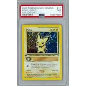 Pokemon Neo Genesis 1st Edition Pichu 12/111 PSA 7