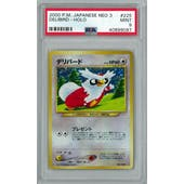 Pokemon Neo 3 Revelation JAPANESE Delibird PSA 9