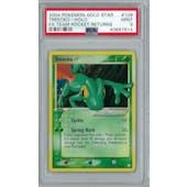 Pokemon EX Team Rocket Returns Treecko * Gold Star 109/109 PSA 9