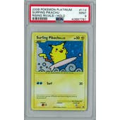 Pokemon Rising Rivals Surfing Pikachu 114/111 PSA 9