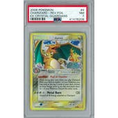 Pokemon EX Crystal Guardians Charizard Reverse Foil 4/100 PSA 7
