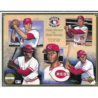 1992 Upper Deck Heroes of Baseball Cincinnati Reds Commemorative Sheet