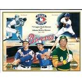 1992 Upper Deck Heroes of Baseball Atlanta Braves Commemorative Sheet