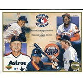 1992 Upper Deck Heroes of Baseball AL vs NL Commemorative Sheet