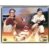 1992 Upper Deck Heroes of Baseball Rocky Colavito Tribute Commemorative Sheet