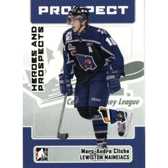 2006/07 ITG Heroes & Prospects Update #185 Marc-Andre Cliche 10 Card Lot