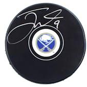 Jack Eichel Autographed #9 Buffalo Sabres Hockey Puck