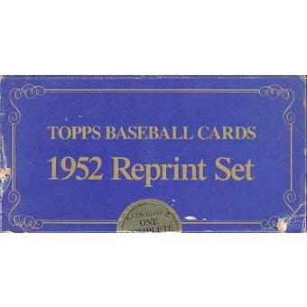 1952 Topps Reprint Baseball Factory Set