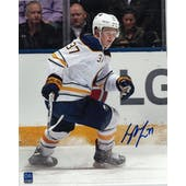 Casey Mittelstadt Autographed Buffalo Sabres 8x10 White Jersey Photo