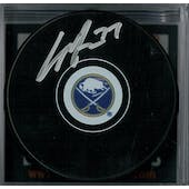 Casey Mittelstadt Autographed Buffalo Sabres Hockey Puck