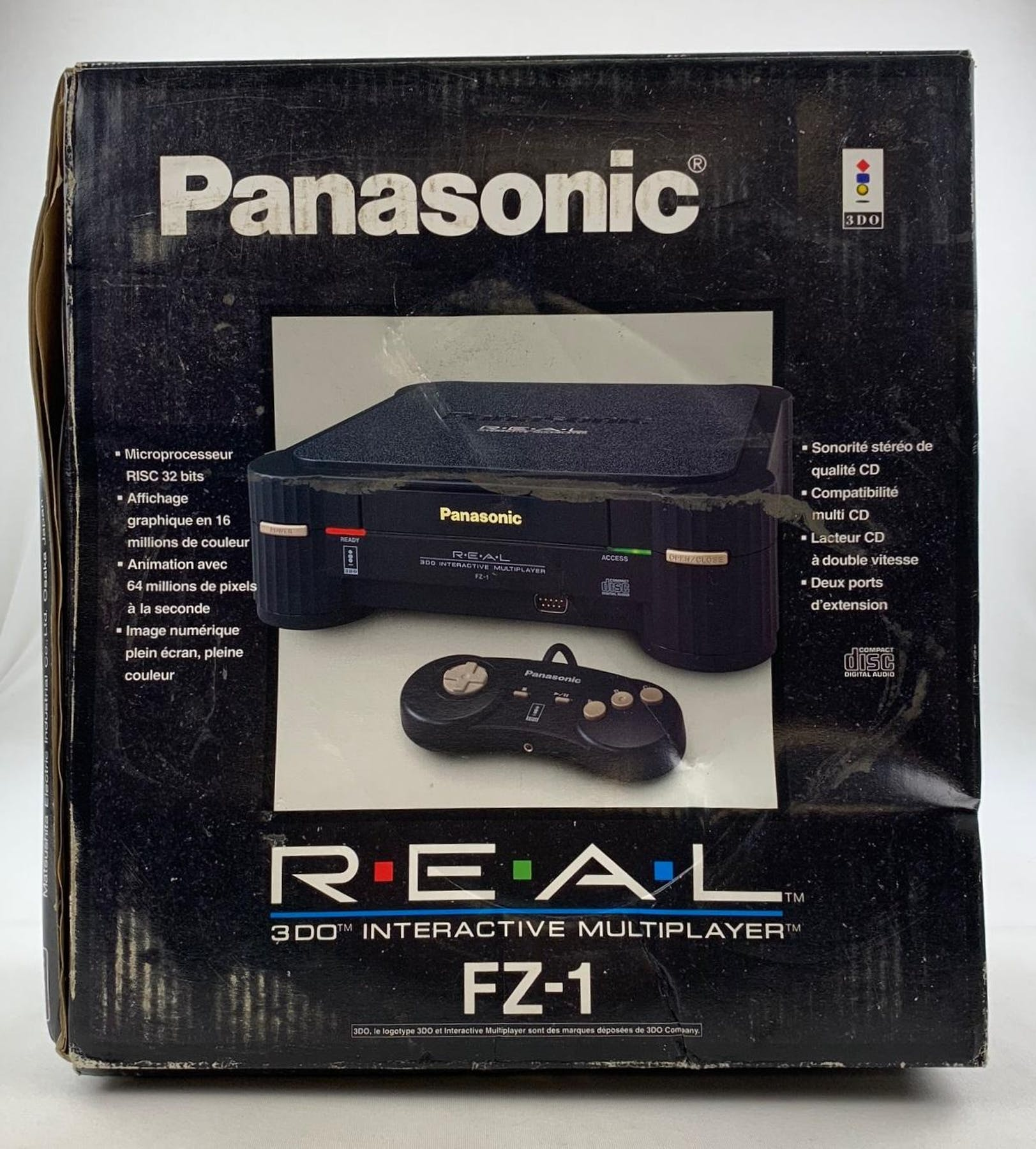 Panasonic 3DO Interactive Multiplayer System Boxed Complete with Games    More! 74dcbbeb3