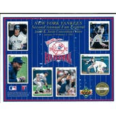 1992 Upper Deck Heroes of Baseball Yankees Fan Fest Commemorative Sheet
