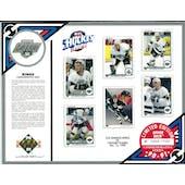 1990/91 Upper Deck LA Kings Commemorative Sheet Blake/Gretzky/Robitaille