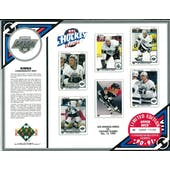1990/91 Upper Deck LA Kings Commemorative Sheet Blake/Gretzky/Robitaille