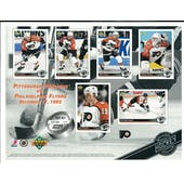 1992/93 Upper Deck Philadelphia Flyers Commemorative Sheet Recchi/BrindAmour