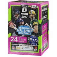 2017 Panini Donruss Optic Football 6-Pack Blaster Box